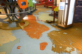 Printed Wall-to-Wall Carpet Lasts: The NY Historical Society