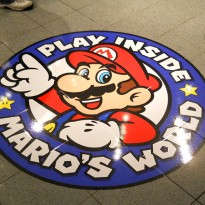 Adhesive Floor Graphics Maximize In-Store Advertising: Nintendo