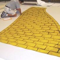 Yellow Brick Road Carpet