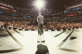 Kevin Hart's Custom Printed Flooring for his Event